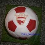 fotbalový míč Slavie