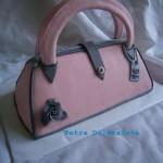 kabelka v růžové