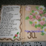 Kniha k perlové svatbě