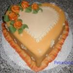 srdce oranž