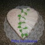 srdce v bílé