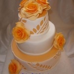 Svatební v oranžové
