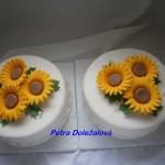 Svatební se slunečnicemi do sady