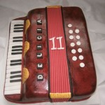 Akordeon s klávesami